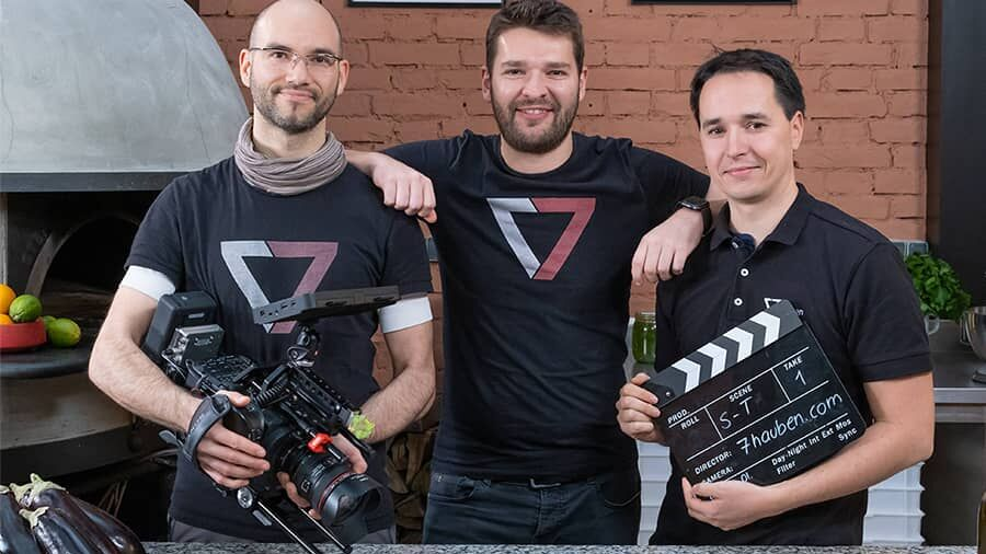 Tech2b 7hauben Gründer Johannes Sailer, Wolfgang Strimmer und Markus Auzinger