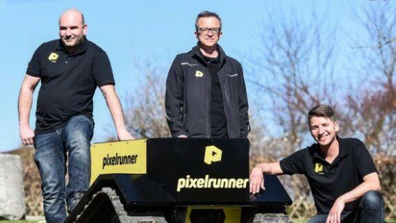 Coverbild Pixelrunner Gründerteam